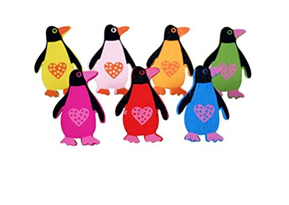 Kangkang@ Creative Office Item/Cartoon Penguin Series Pushpins/50 Piece/Random Style
