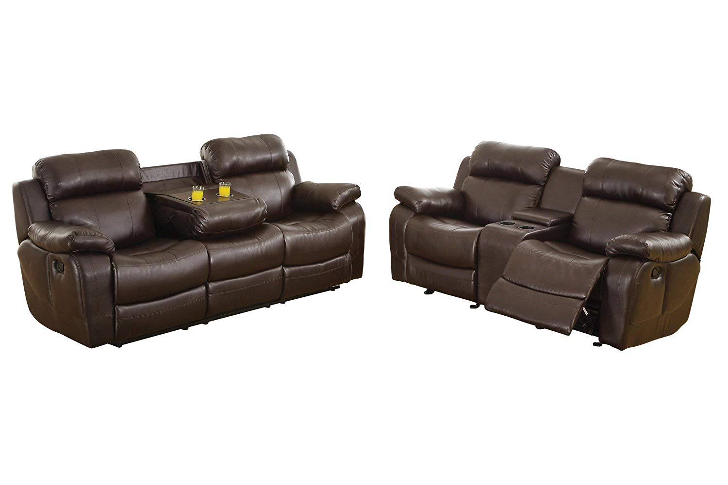 Fantastic Cheap Brown Leather Reclining Sofa Find Brown Leather Interior Design Ideas Pimpapslepicentreinfo