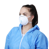 NIOSH Approved Valved Particulate Respirator N95 Disposable Dust Masks