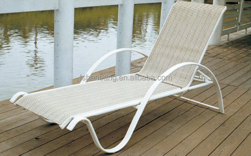 Outdoor Pool Aluminum Beach Lounge Chair Sun Lounger Buy