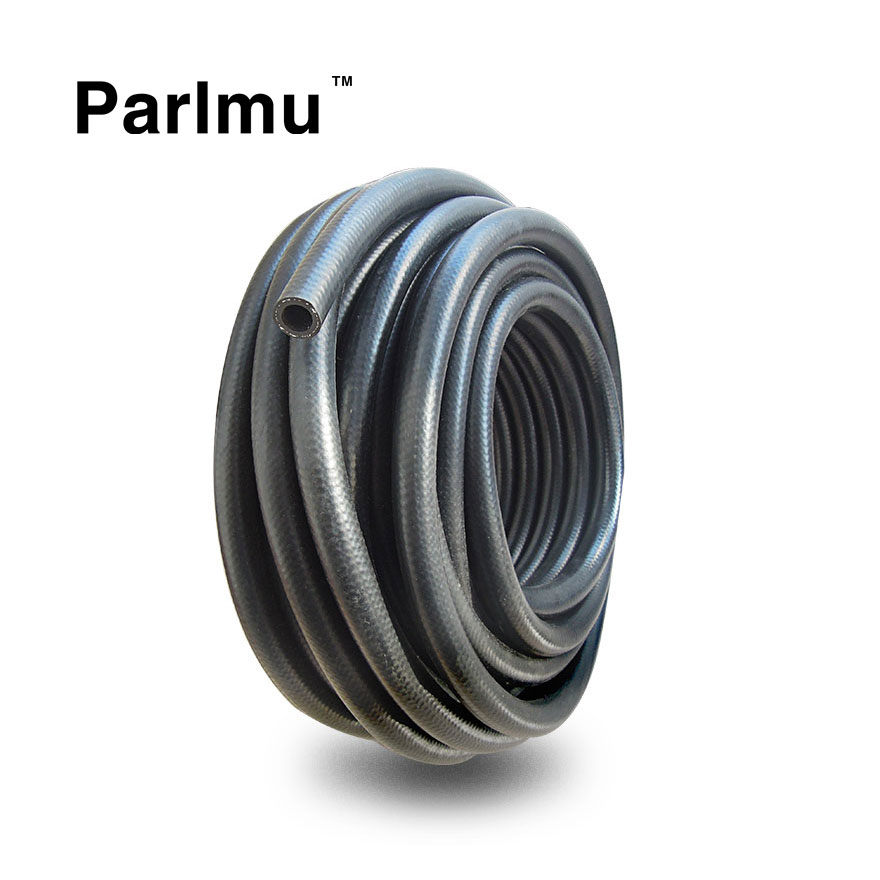 8 mm x 15 mm SAE J30 R6 Reinforced Rubber Hose Flexible Pipe Tube Fuel Petrol Oil Diesel