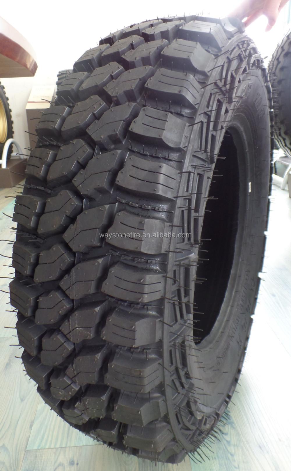 4x4 Off Road >> Waystone Mud Tire Lt285/75r16,33/12.5-15 Mud Terrain Tire ...