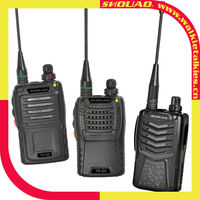 the compactest professional two way radio SHOUAO TS-G3/G5/G6 with FM radio function