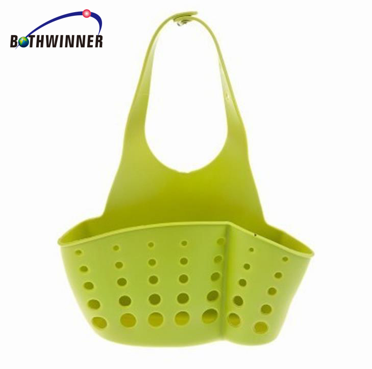 Kitchen Hanging Drain Bag Basket Bath Storage Gadget Tool