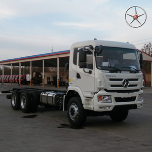 DAYUN 6*4 used cargo crane truck lorry truck 240HP EURO 2 used truck for sale