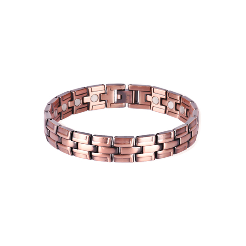 Germanium and Tourmaline Copper Bracelets with Magnet