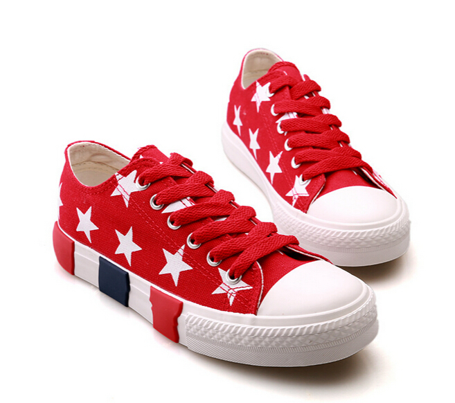 2015 New Pentagram running shoes for women Classic canvas shoes women's Wedge Sneakers Casual platform shoes ladies flat shoes