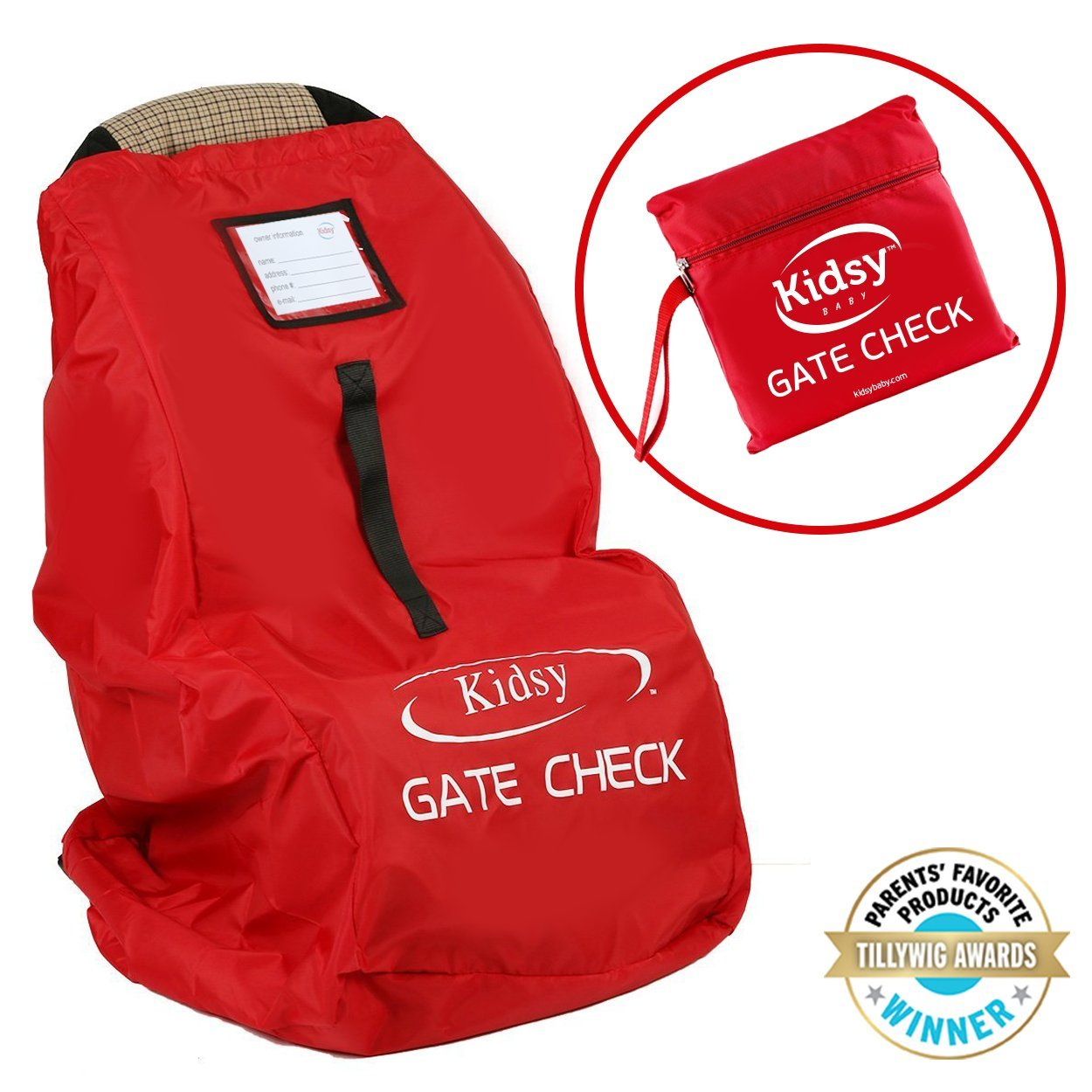 Get Quotations Car Seat Travel Bag For Flight Check In
