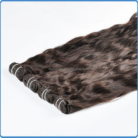 Quality guarantee double wefted to reinforce hair no shedding easy to sell peruvian weft hair extension natural wavy