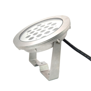 Good Quality 316L Stainless Steel 24V 54W Waterproof IP68 Salt Water Powered LED Light for Pool