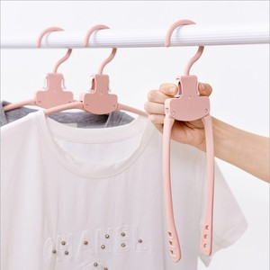 new product Multi-functional plastic clothes hanger folding,magic hangers for clothes