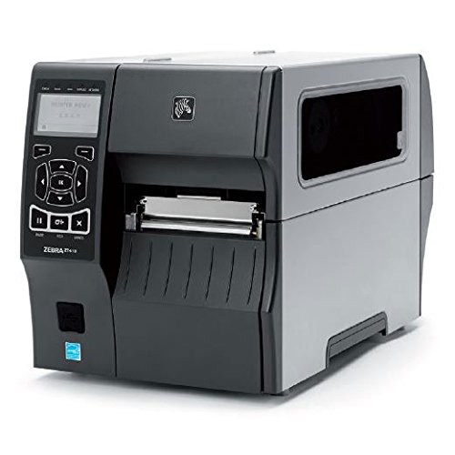 "Zebra Technologies ZT41042-T310000Z Series ZT410 4"" DT/TT Tabletop Printer, 203 dpi Resolution, Tear Bar, Power Cord with US Plug, USB 2.0/RS-232 Serial/10/100 Ethernet, Bluetooth 2.1, EZPL"