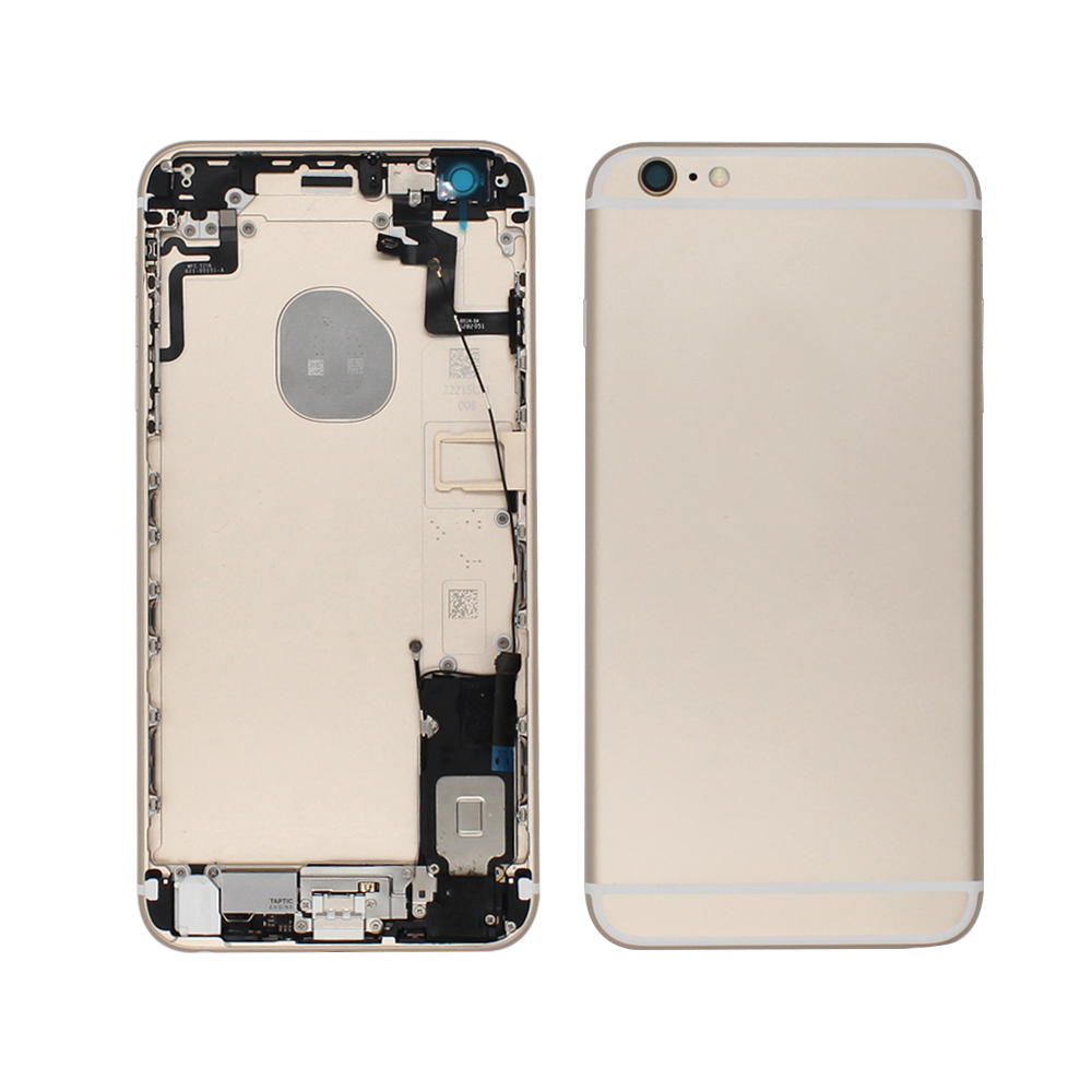 free shipping back cover housing replacement for iPhone 6S plus housing custom For iPhone 6P housing