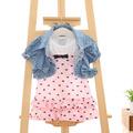 Children Clothing Girls Set Kids Clothes Girls Clothing summer Casual Suits Toddler 2 PCS Jacket short
