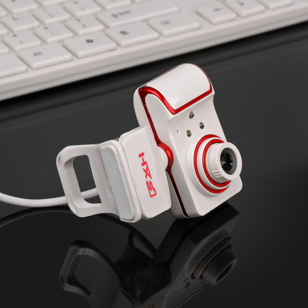 USB Webcam 3 LED Gece Görüş HD Webcam Kamera Mic Ile Sürücüsü Webcam USB PC Kamera