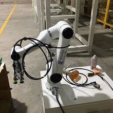 Shandong food pick mini industrial 6 axis robot kit made in china