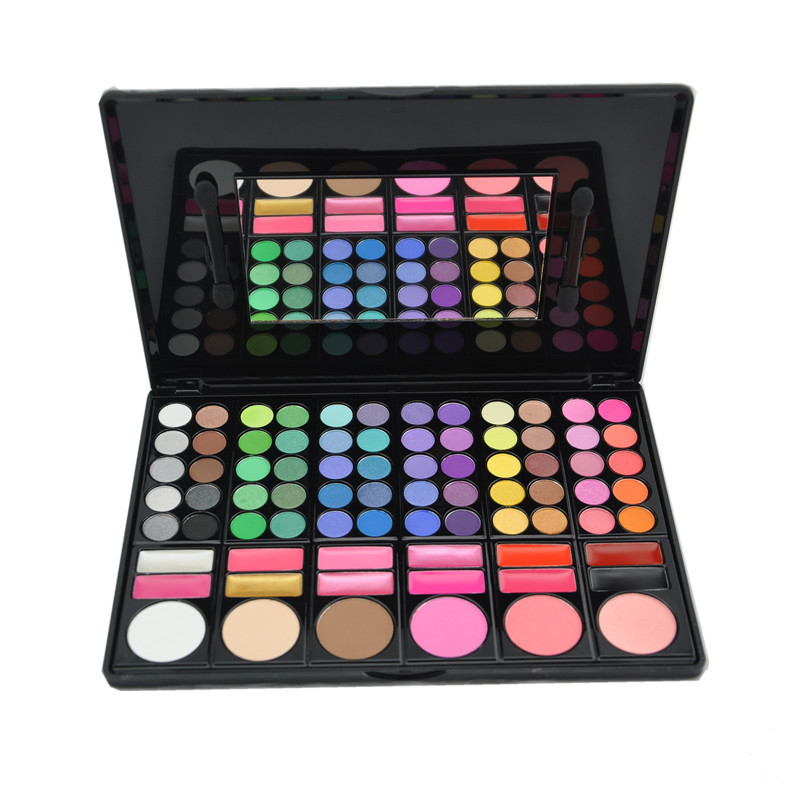 Wholesale 78 Colour Makeup Eye Shadow Palette Makeup Kit <strong>Set</strong> Make <strong>Up</strong> <strong>Box</strong> with Mirror