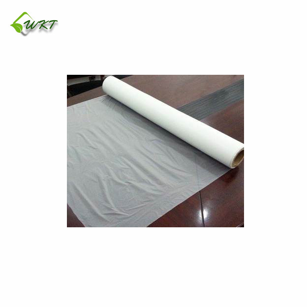 black/silver/white/blue biodegradable plastic agricultural mulch film price