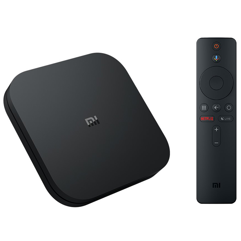 Versión Global Xiaomi Mi TV Box S inteligente HD 4k Android 8,1 Smart Box de Internet para TV