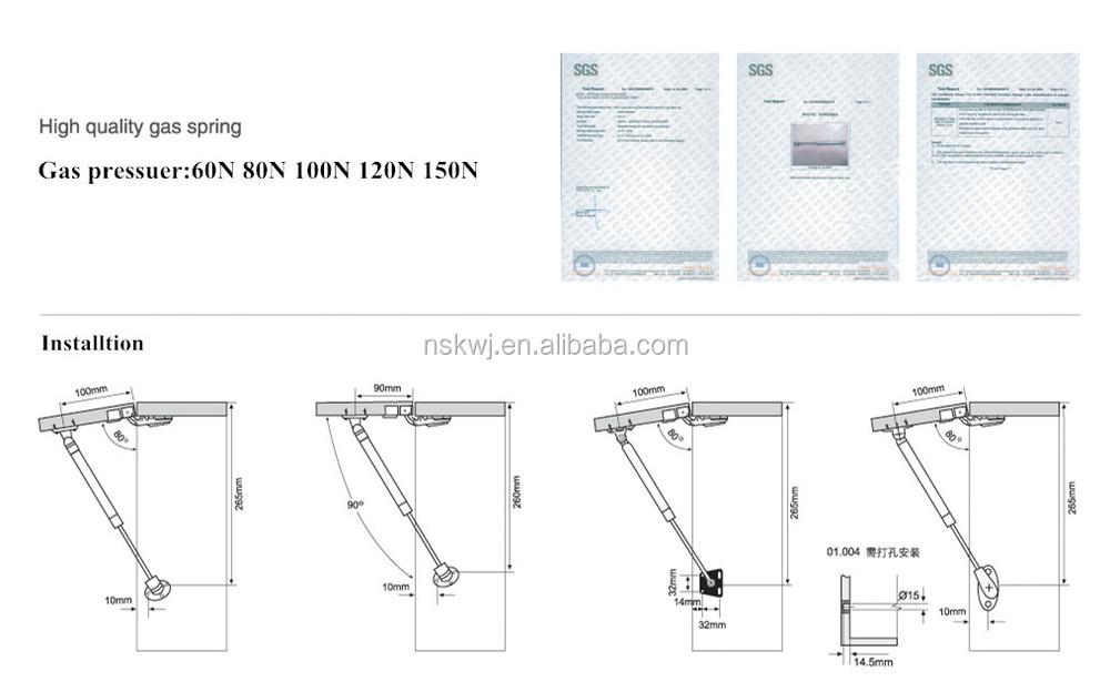 Cabinet Door Struts | MF Cabinets