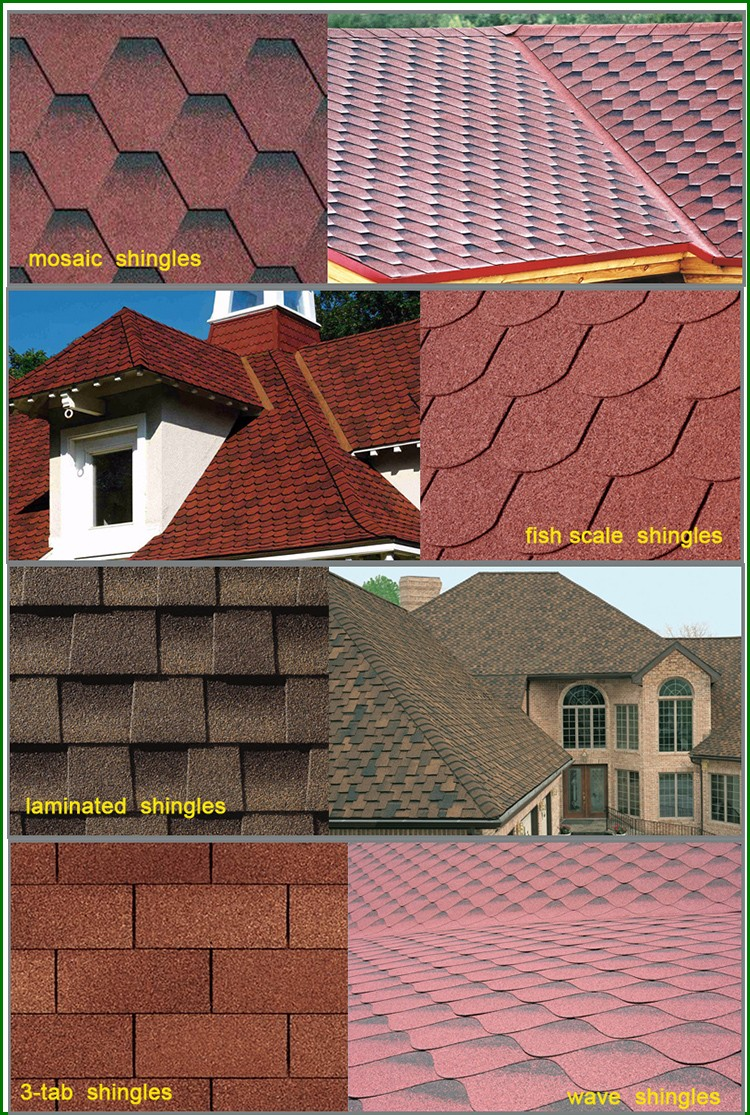 Chinese Solar Roof Tiles Asphalt Roofing Shingles Cheap