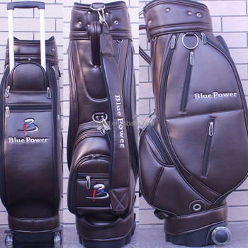 Golf Push Pull Cart Trolley Bag With Wheels Product