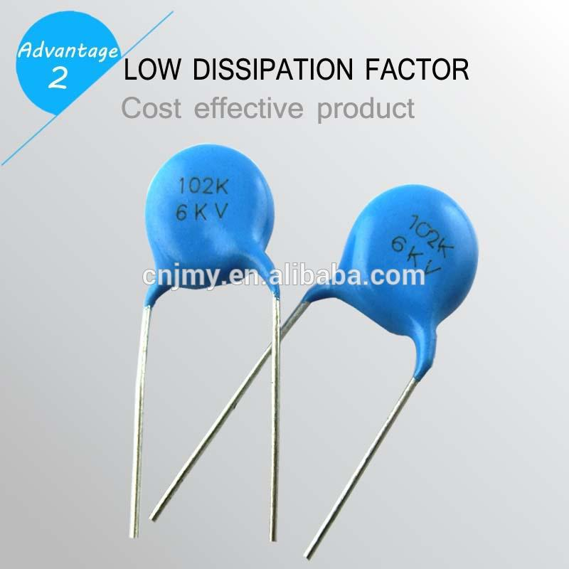 High Voltage New Ceramic Power Capacitor Type Of 1kv
