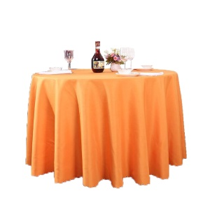 Cheap price and beautiful jacquard table cloth for party wedding decoration