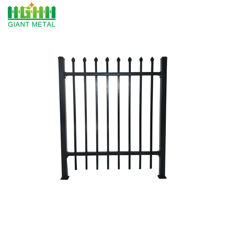 China factory Security Spear Tubular Metal Steel Fence Wrought Iron Fence,Ornamental Fence