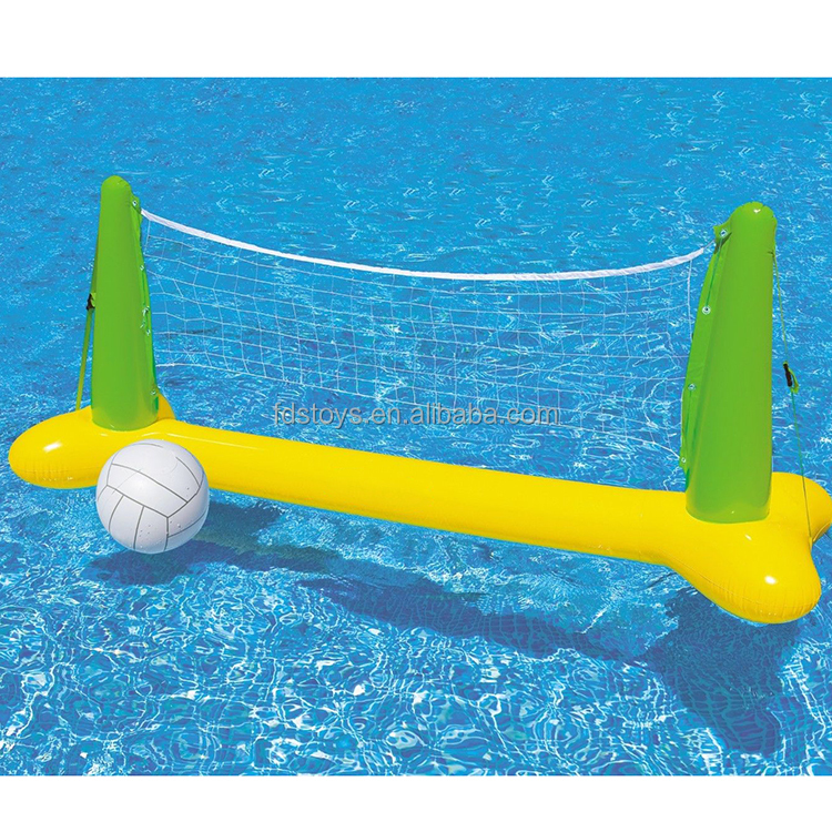 Zwembad opblaasbare volleybal spel netto gewicht partij for Zwembad spel
