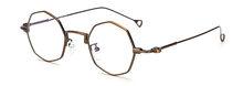 SHAUNA, женские Восьмиугольные металлические оптические очки, оправы по рецепту, Ретро стиль, Мужские Оригинальные прозрачные линзы, очки для ...(Китай)