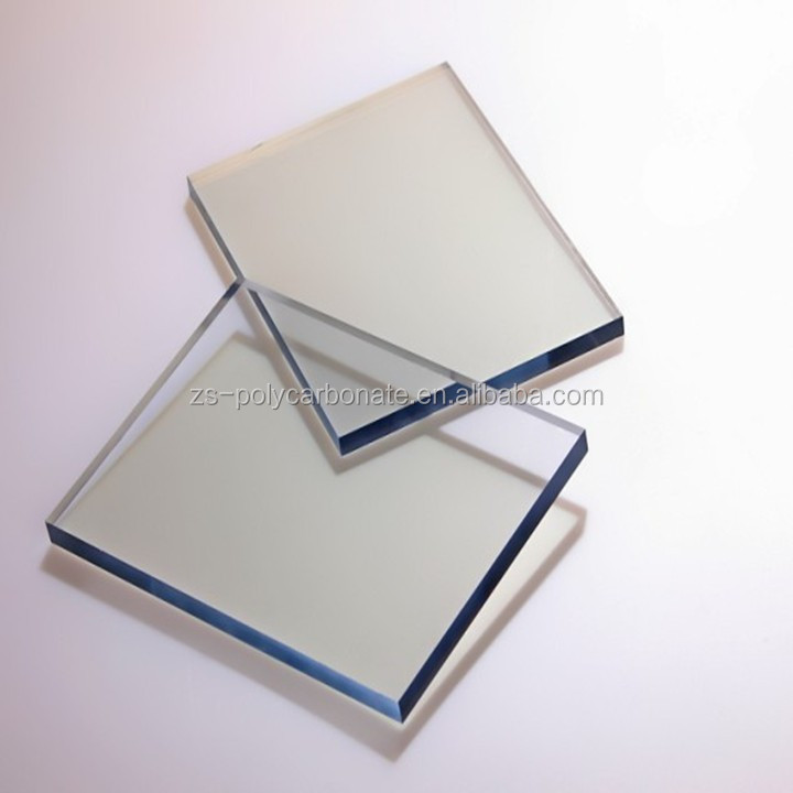 Construction using PC solid sheet Polycarbonate Sheet