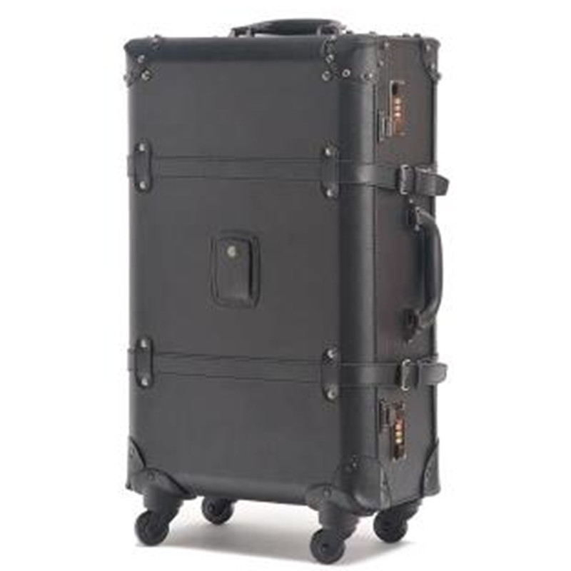 Buy World Map vintage trolley luggage male universal commercial wheels  luggage travel bag suitcase female16 18 20 22 24 luggage sets in Cheap  Price on ... f0be8d2d362b4