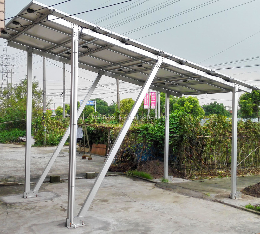Solar Carport Mounting Systems 50kw Buy Solar Carport