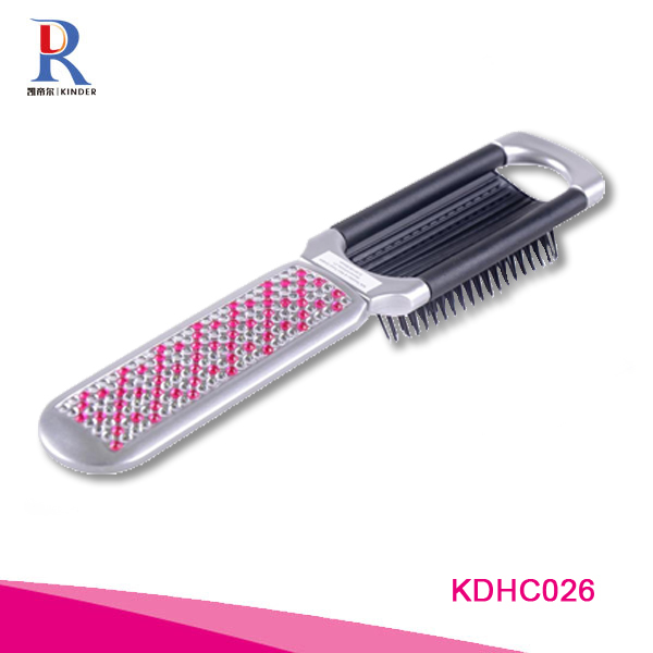 Custom detangle hair brush