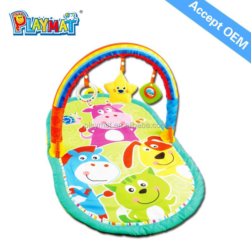 2015 Newly popular fabric large indoor baby playmate blanket kids play mat indoor kids soft play mats chenghai toys HX9104