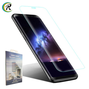 Retail Box 9H 5D Curved screen protector Note 8 full tempered glass protection guard