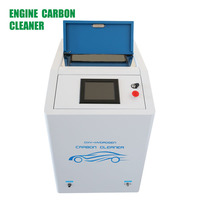 Green Improving car horse auto engine parts cleaning machine