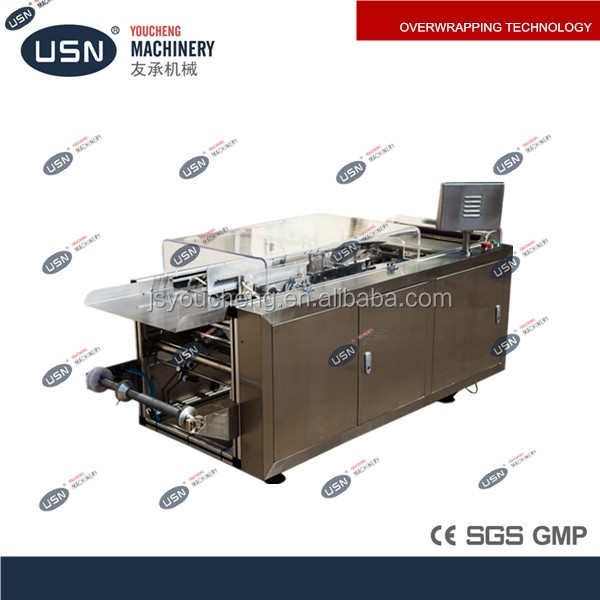 YC-300 Manual Perfume Cellophane Wrapping Machine
