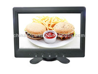 7inch split screen Digital cctv security monitor vehicle rearview lcd monitor