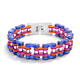 Fashion Colorful Stainless Steel Bike Chain Bracelet