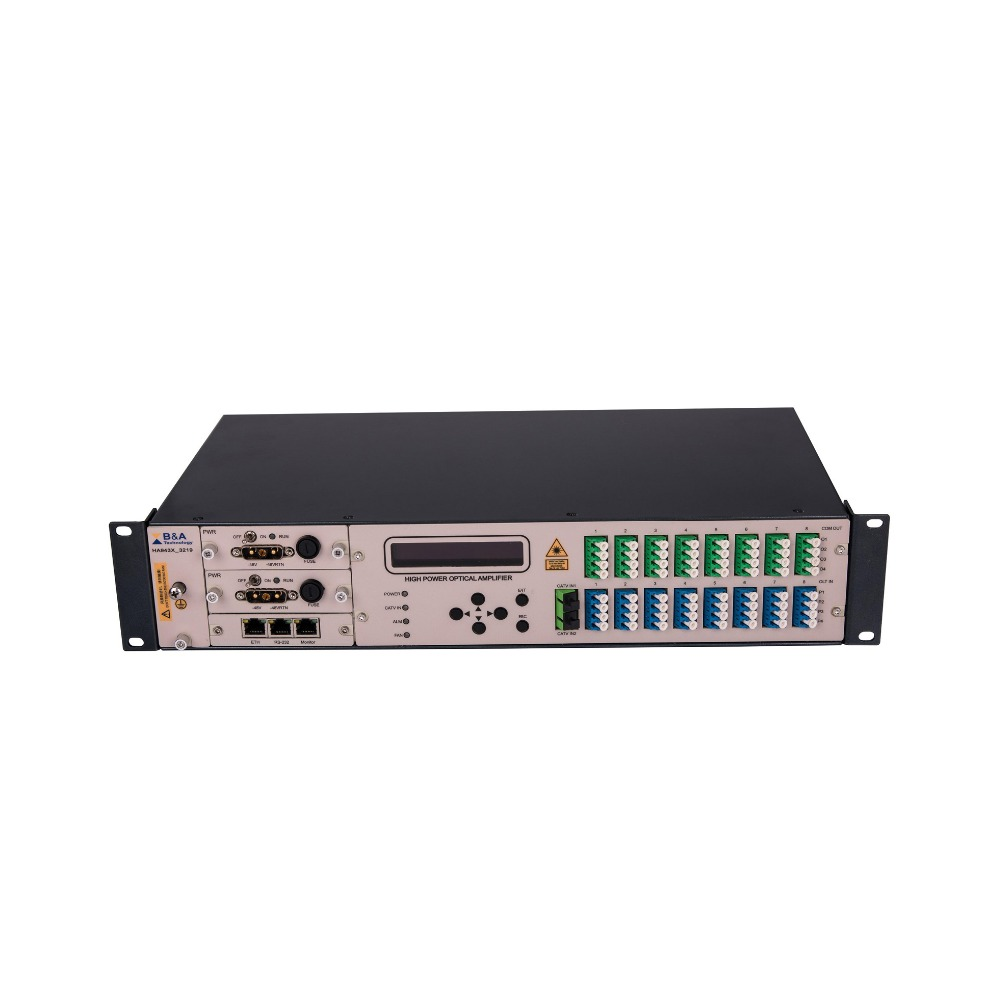 FTTH CATV 1550nm High Power Optical Amplifier EDFA