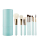 8 piece synthetic hair makeup brush holder China supplier cosmetic makeup brush set