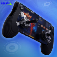 Hot wholesale mobile phone dual hand joystick with touch screen mini joystick for smartphones