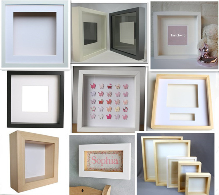 white shadow box frames wholesale deep shadow box shadow box