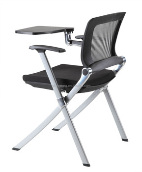 2014 Training Room Chairs With Writing Pad Folding Chair