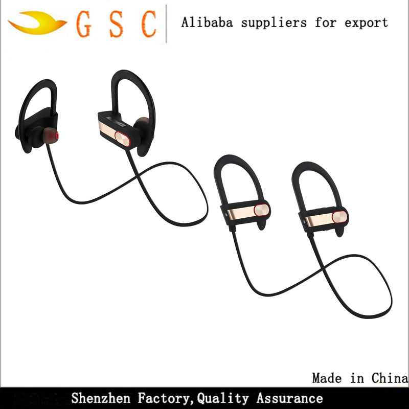 2017 new free <strong>samples</strong> supplier made in china v4.1 wireless sport bluetooth earphone