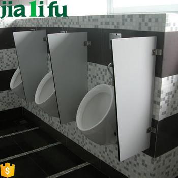 Wall Hung Custom Phenolic Board Bathroom Urinal Stall Dividers