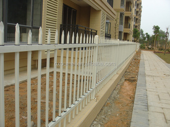 commercial outdoor security fence cheap iron bar fence