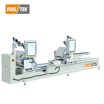 Digital Display pvc window making machine for cutting upvc profile